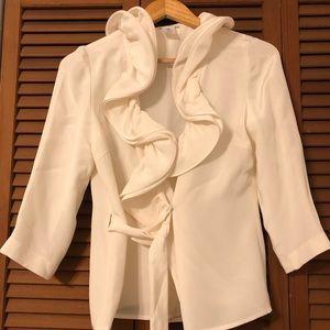 Oscar de Le Renta silk blouse
